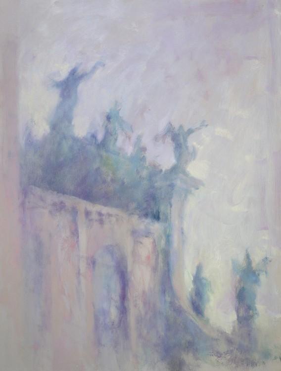 ANGELI,1993,OLIO SU TAVOLA,120X90