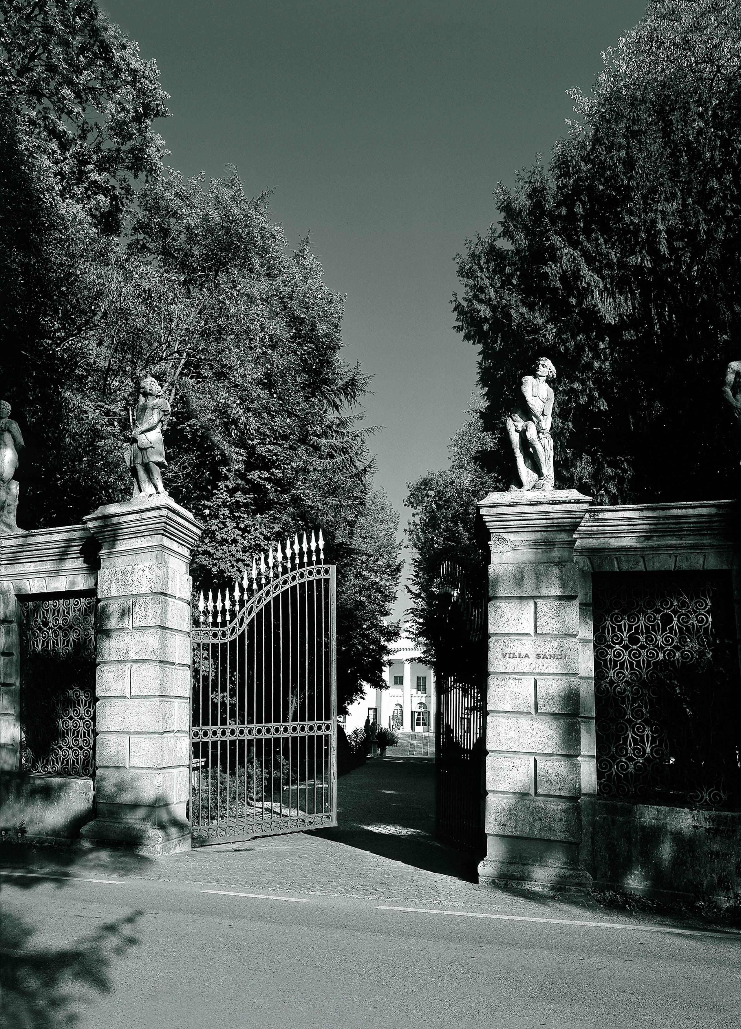 Cancello Villa Sandi