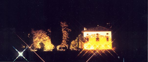 facciata ovest bynight