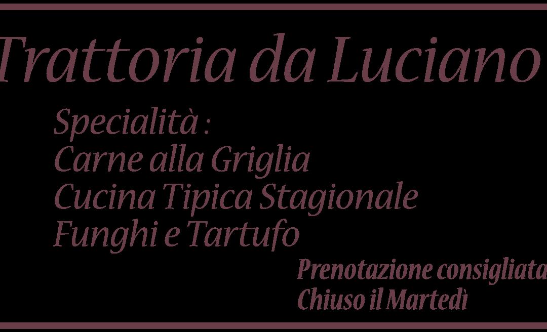 REVIEW TRATTORIA DA LUCIANO RISTAMPA MAPPA MONTELLO