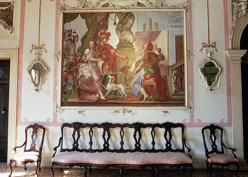 salone da ballo affresco